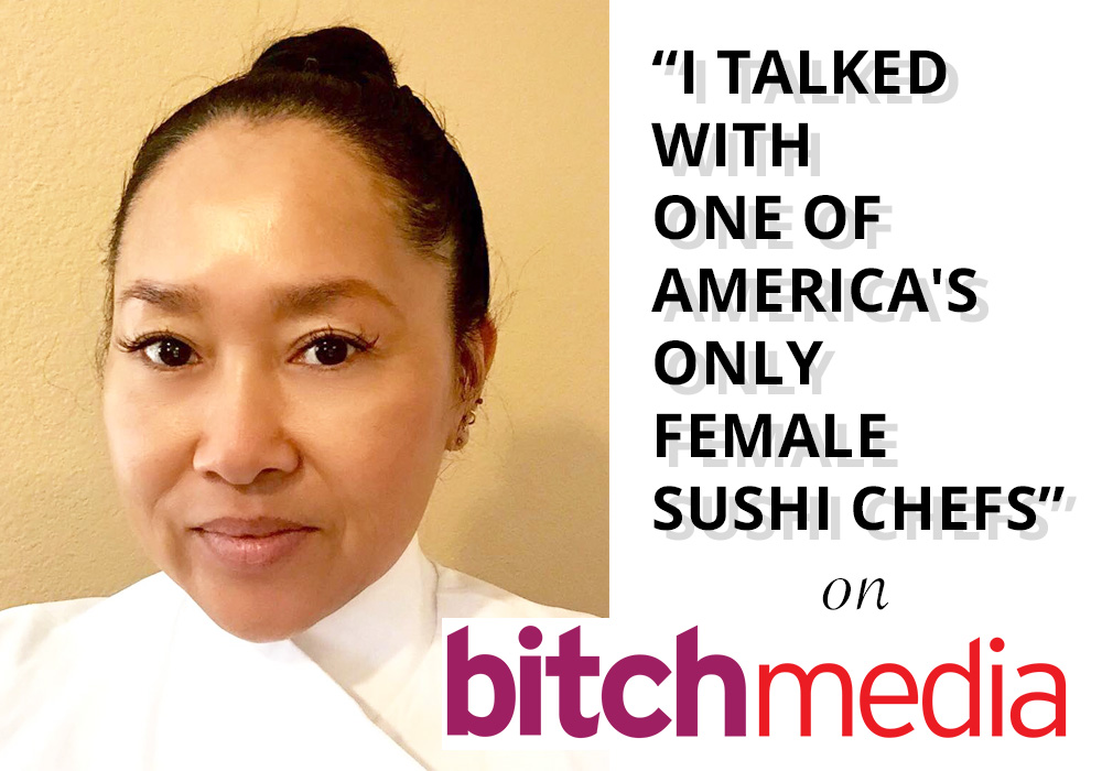 I TALKED WITH ONE OF AMERICA'S ONLY FEMALE SUSHI CHEFS